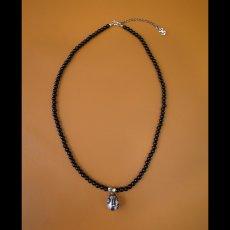 Photo2: No.274 Beherit Silver Pendant: Egg of the king (Onyx Version)*attachment of brand stigma (2)