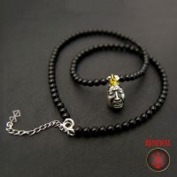 No.273 Beherit Silver Pendant: Eclipse(Shoku) (Onyx Version)*attachment of brand stigma