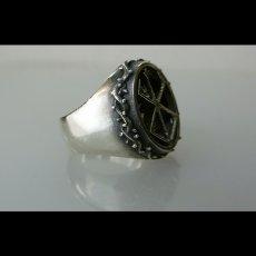 Photo3: No.477 The Skull Knight & Mark of Sacrifice Silver Ring (3)