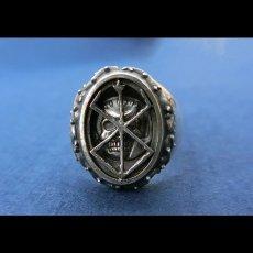 Photo1: No.477 The Skull Knight & Mark of Sacrifice Silver Ring (1)