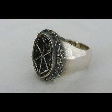 Photo4: No.477 The Skull Knight & Mark of Sacrifice Silver Ring (4)