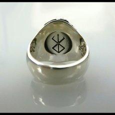 Photo2: No.477 The Skull Knight & Mark of Sacrifice Silver Ring (2)
