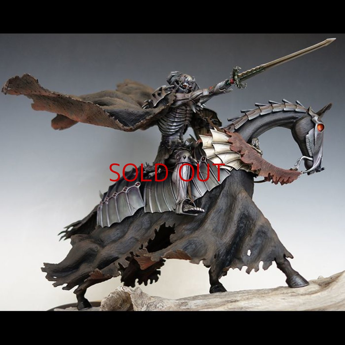 Photo1: No. 478  Skull Knight 2018- Limited Edition I(with attachment of Senma Soldier and the Sword of Actuation) *Sold out* (1)