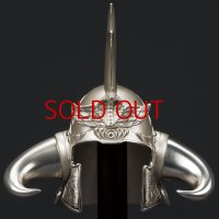 FIST OF THE NORTH STAR -RAOH's Helmet- Pure Silver Version