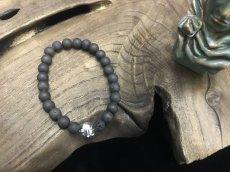 Photo4: Druzy Stone Beherit Bracelet (Egg of the King/ Eclipse) (4)