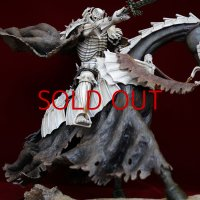 No.490  Skull Knight 2019 White Skeleton Version- Limited Edition I(with attachment of Senma Soldier )