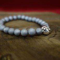 Photo4: Druzy Stone Beherit Bracelet (Egg of the King)BSS-B-03GR (4)