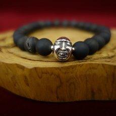 Photo3: Druzy Stone Beherit Bracelet (Eclipse)BSS-B-04BK (3)
