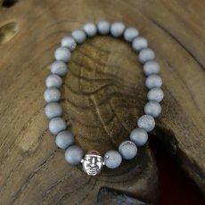 Photo5: Druzy Stone Beherit Bracelet (Eclipse)BSS-B-04GR (5)