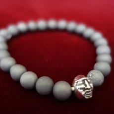 Photo3: Druzy Stone Beherit Bracelet (Eclipse)BSS-B-04GR (3)