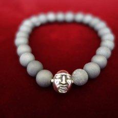 Photo4: Druzy Stone Beherit Bracelet (Eclipse)BSS-B-04GR (4)