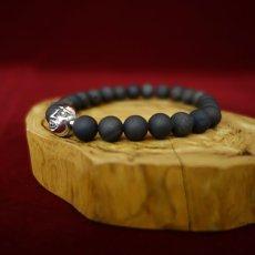 Photo4: Druzy Stone Beherit Bracelet (Eclipse)BSS-B-04BK (4)