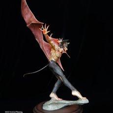 "Photo10: 2021Repaint Devilman Polystone Statue ""Makai-no-Tobira"" (10)"