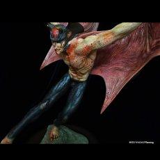 "Photo1: 2021Repaint Devilman Polystone Statue ""Makai-no-Tobira"" (1)"