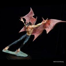 "Photo3: 2021Repaint Devilman Polystone Statue ""Makai-no-Tobira"" (3)"
