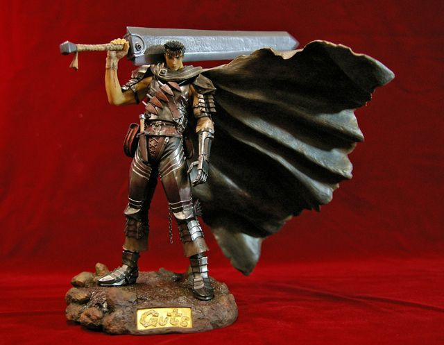 Photo1: No. 162 Guts: Black Swordsman PVC- Normal Version *Sold out! (1)