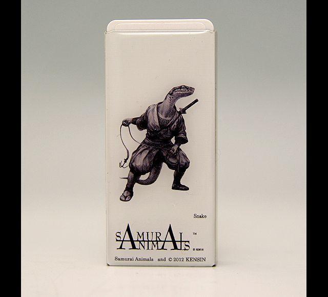 Photo1: SAMURAI ANIMALS-  FRISK  Mint Tablet Case Cover Snake  the Snake Samurai *Stopped Production (1)