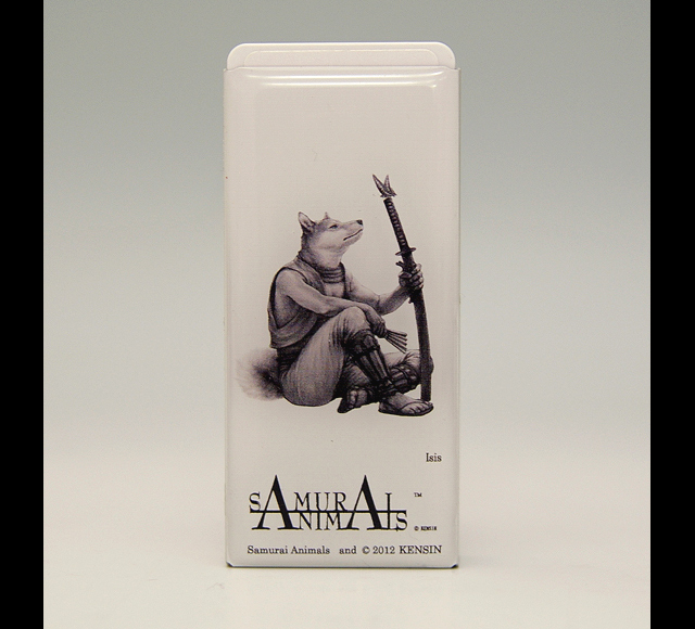 Photo1: SAMURAI ANIMALS-  FRISK  Mint Tablet Case Cover Isis  the Dog Samurai *Stopped Production (1)