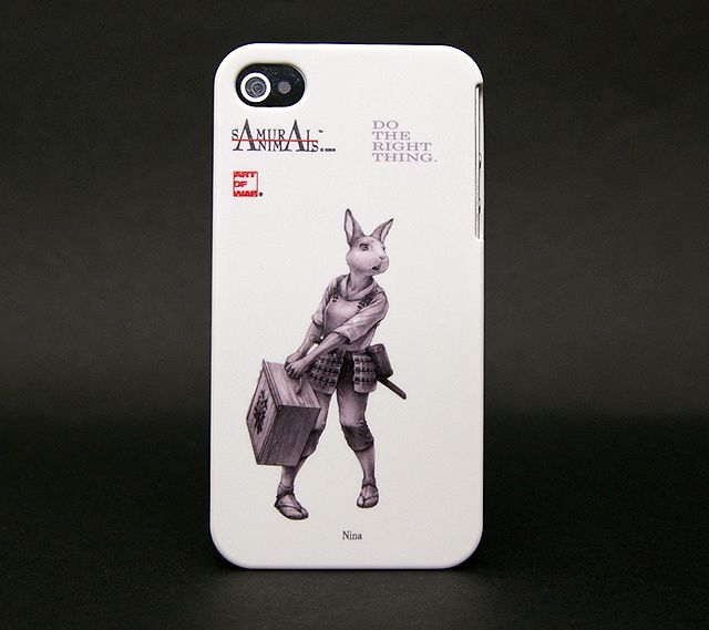 Photo1: SAMURAI ANIMALS- iPhone Case No.7 *Stoped Production (1)