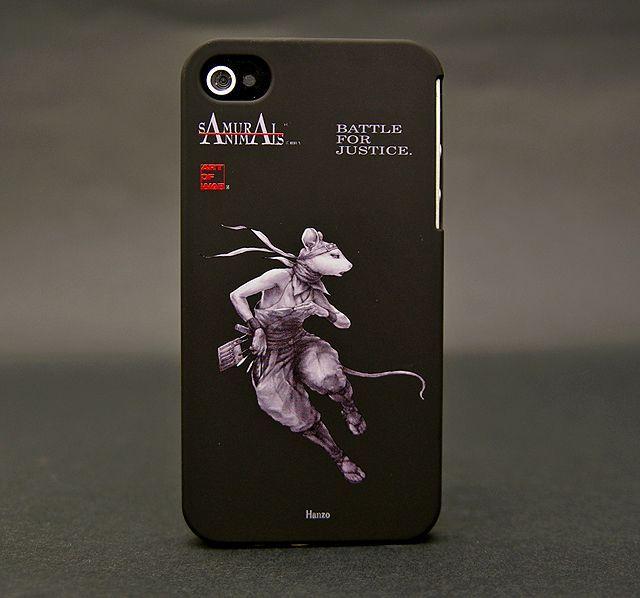 Photo1: SAMURAI ANIMALS- iPhone Case No.4 *Stoped Production (1)