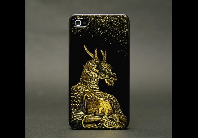 Photo1: SAMURAI ANIMALS- iPhone Case No.1 *Stoped Production (1)