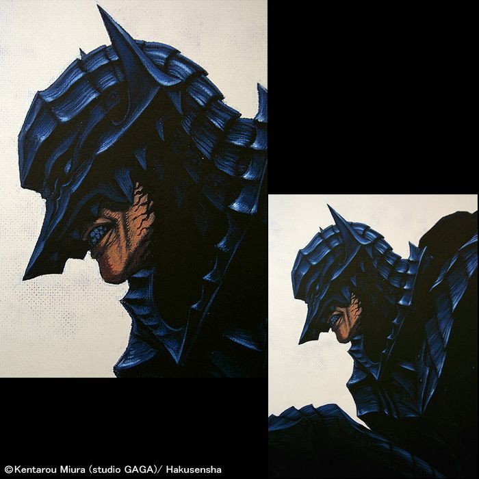 No 296 Berserk Guts In Armor Dress Wall Scroll Order