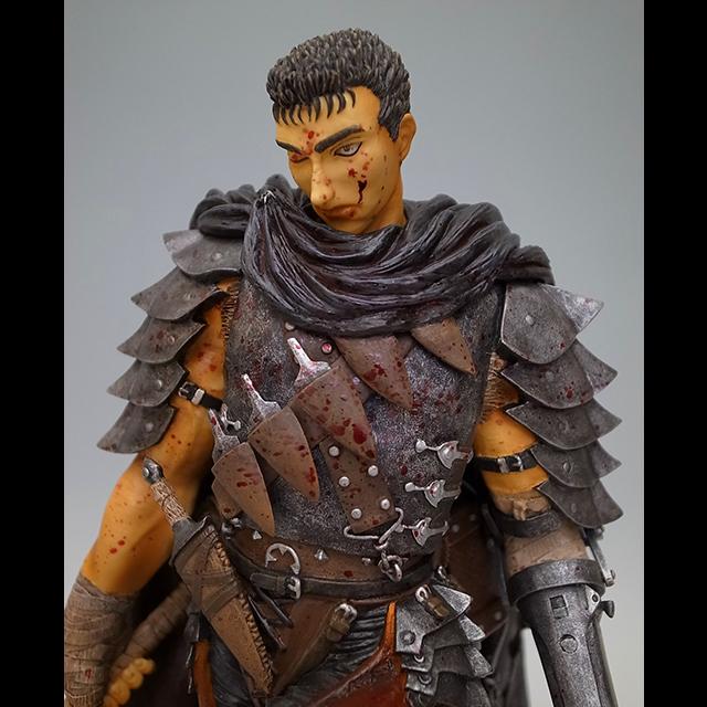 No 190 Guts Black Swordsman Lost Children 1 6 Scale Statue Type Repaint Version Sold Out Art