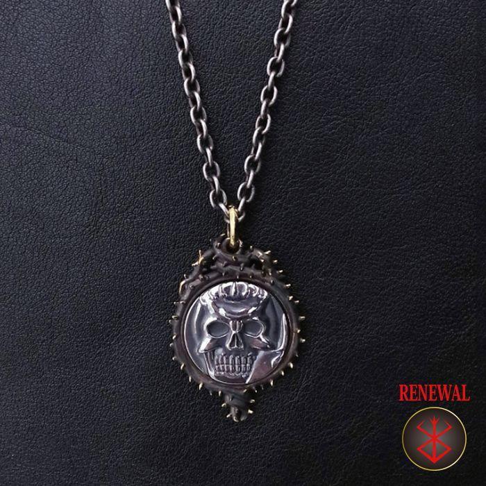 Photo1: No.309 Skull Knight *Silver Pendant*attachment of brand stigma BSS-P-05 (1)